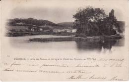 CPA - BEHOBIE - L'Ile Des Faisans Où Fut Signé Le Traité Des Pyrénées - Circulée (Lot 1-79) - Sonstige Gemeinden