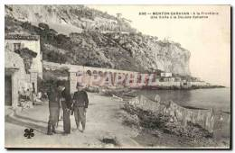 Menton - Garavan La Frontiere Une Visite A La Douane Italienne - - Menton