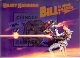 Afiche--El Heroe Galactico----de Harry Harrison - Cómics
