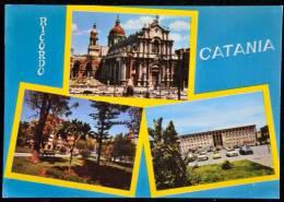 1970 SALUTI DA CATANIA VEDUTINE FG V SEE 2 SCAN - Catania
