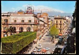 1965 CATANIA VIA ETNEA FG V SEE 2 SCAN AUTOMOBILI ANIMATA - Catania