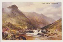 Tavy Cleave, Dartmoor - Artist Drawn - England