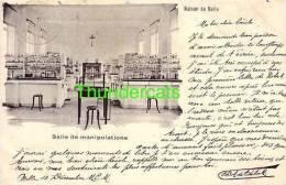 CPA MAISON DE MELLE  SALLE DE MANIPULATIONS - Melle