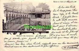 CPA MAISON DE MELLE  BASSIN DE NATATION - Melle