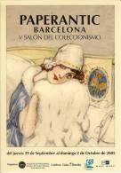 España--Afiche--Paperantic--Barcelona ---V Salon Manga - Cómics