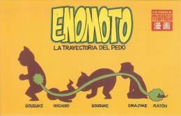 España--Afiche--Enemoto---La Trayectoria Del Pedo - Cómics