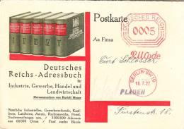 Deutsches Reich /AFS - Storia Postale