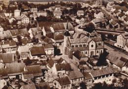 CPSM GRANDVILLARS 90 LE VILLAGE EGLISE VUE AERIENNE CIM 1957 - Grandvillars