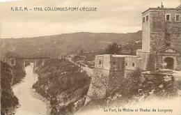 Ain : Oct12 328 : Collonges-Fort-l'Ecluse  -  Fort  -  Rhône  -  Viaduc De Longeray - Non Classés