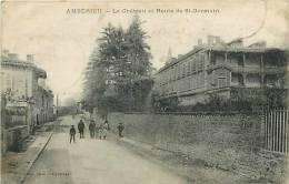 Ain : Oct12 344 : Ambrieu  -  Château  -  Route De Saint-Germain - Non Classés