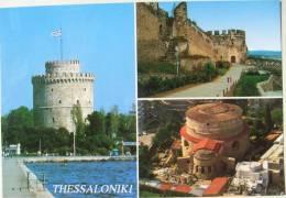 Greece / Thessaloniki - The White Tower / Byzantine Walls / St. George - Greece