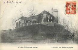 Ain : Oct12 360 : Mussel  -  Château - France
