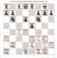 Surinam / Suriname 2009 Schaken Chess Schach Echecs Botwinnink-Keres Sheet MNH - Schaken