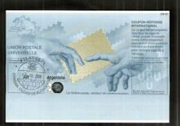 2242 IRC IAS CRI - International Reply Coupon - Antwortschein T32 Gestempelt Argentine Argentinien AR 20061214 HB - Argentine