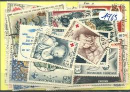 France  Années Completes (o) 1965 (33 Timbres) - France