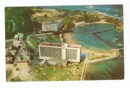 CPA - Puerto Rico : San Juan : Aerial View Caribe Hilton Hôtel ( Vue Aérienne Hotel Caribe Hilton) - Puerto Rico
