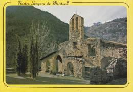 CPSM VALLS D ANDORRA  ANDORRE NS DE MERITXELL PATRONNE D ANDORRE AS 300 - Andorra