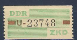 DDR Dienst Gruppe B Nr. VII ** postfrisch / Kennbuchstabe U
