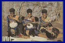 SWAZILAND.  Women Making Sisal Baskets. (C.P.M.) - Swaziland