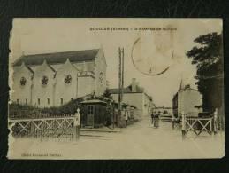 86 Rouille - L'avenue De La Gare - Altri Comuni