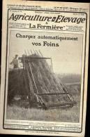 AGRICULTURE ET ELEVAGE N° 71 20 Avril 1920 Chargez Automatiquement Vos Foins Morphologie Du Chien - 1900 - 1949