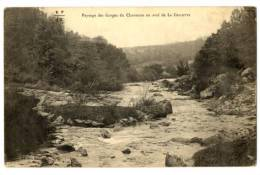 CPA 23 Creuse Gorges Du Chavanon En Aval De La Celette - Autres Communes