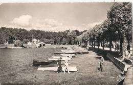 LACANAU VILLE LE PORT Timbrée 1956 TTB - Autres Communes