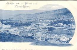 ROMANIA-ABOUT 1900-VATRA-DORNEI-BEAUTIFUL ORIGINAL GRUSS AUS VINTAGE PC - Roemenië