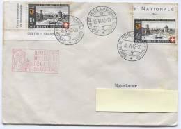 SWITZERLAND - Bureau De Poste Automobile Suisse, Stamp, 1942. Envelope - Zwitserland
