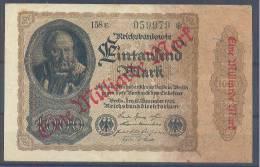 Germany Paper Money Bill Of 1000 Marka 15-12-1922 - [ 3] 1918-1933 : Weimar Republic