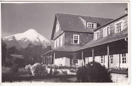 Chile Ensenada Hotel Volcan Tarjeta Postal Vintage Original Real Photo Postcard Ca1930 Ak Cpa [WIN3_337] - Chile