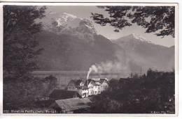 Chile Hotel  Peulla Cerro Techado  Tarjeta Postal Vintage Original Real Photo Postcard Ca1930 Ak Cpa [WIN3_341] - Chile