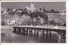 Chile  Viña Del Mar  Tarjeta Postal Vintage Original Real Photo Postcard Ca1930 Ak Cpa [WIN3_343] - Chile