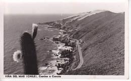 Chile  Viña Del Mar  Tarjeta Postal Vintage Original Real Photo Postcard Ca1930 Ak Cpa [WIN3_348] - Chile