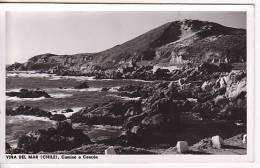 Chile  Viña Del Mar  Tarjeta Postal Vintage Original Real Photo Postcard Ca1930 Ak Cpa [WIN3_349] - Chile