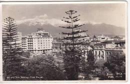 Chile Santiago Tarjeta Postal Vintage Original Real Photo Postcard Ca1930 Ak Cpa [WIN3_356] - Chile