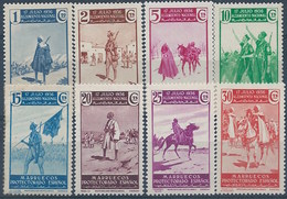 MA169-L4188TO. Maroc.Marocco.MARRUECOS ESPAÑOL ALZAMIENTO NACIONAL 1937 (Ed 169/85**) Sin  Charnela. - Otros