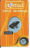 Nomad - Carte Recharge - Small 75 F - Frankrijk