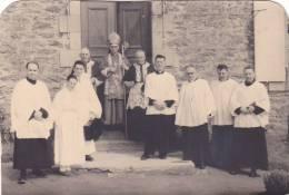 St Saint Lunaire, 35 France Bretagne, Photographie Datée 17 Mai 1955, Confirmation Pretre Eveque (Rennes ? ) - Autres