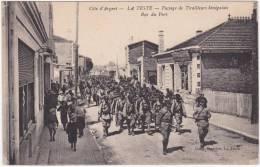 La Côte D'Argent - La Teste - Passage De  Tirailleurs Sénégalais Rue Du Port - France