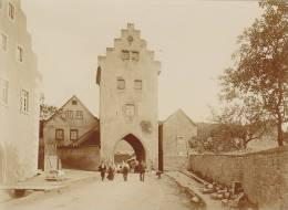 Euerdorf, Kreis Bad Kissingen, Bayern, Torturm, FOTO 1902, Original - Orte