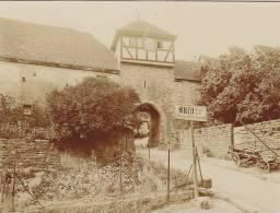 Dilsberg, Neckargemünd, Rhein-Neckar-Kreis, Baden-Württemberg, Torturm Von Süden, FOTO 1928, Original - Orte