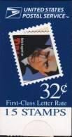 USA - 1997 32c MOVIE MONSTERS BOOKLET PANE OF 15 ** Sc #269 - Markenheftchen