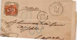 1895   LETTERA  CON  ANNULLO  ARPINO - Impuestos