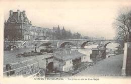 La Seine à Travers Paris - Vue Prise En Aval Du Pont-Royal - Die Seine Und Ihre Ufer