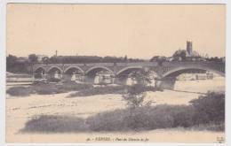 (RECTO / VERSO) NEVERS EN 1914 - N° 46 - PONT DU CHEMIN DE FER - Nevers
