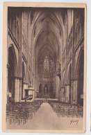 (RECTO / VERSO) METZ EN 1931 - INTERIEUR DE LA CATHEDRALE - LA NEF - Metz