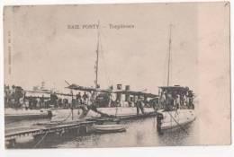 TUNISIE -  BAIE PONTY - Torpilleurs -  BIZERTE - Tunisie