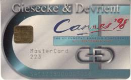SMART CARD G&D - CANNES 1998 - Unclassified