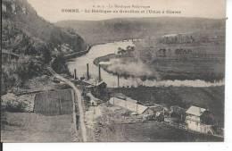 DOMME - La Dordogne Au Gravillon Et L'Usine à Ciment - France